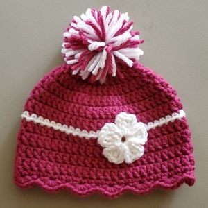 Other - Crocheted newborn hat